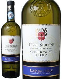 テッレ・シチリアーノ シャルドネ・インソリア 2015 バルバネラ 白  Terre Siciliane Chardonnay Insolia / Barbanera  スピード出荷