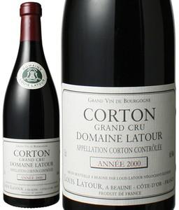 コルトン ドメーヌ・ラトゥール 2000 ルイ・ラトゥール 赤  Corton Domaine Latour  / Louis Latour   スピード出荷
