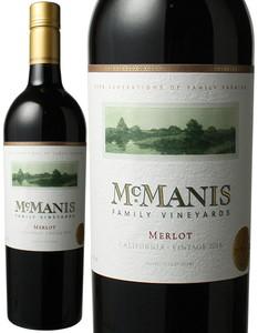 マックマニス メルロー 2016 赤  Mcmanis Family Merlot  スピード出荷