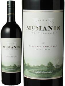 マックマニス カベルネ・ソーヴィニヨン 2016 赤  Mcmanis Family Cabernet Sauvignon  スピード出荷