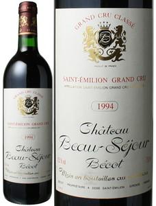 シャトー・ボーセジュール・ベコ 1994 赤  Chateau Beau-Sejour Becot   スピード出荷