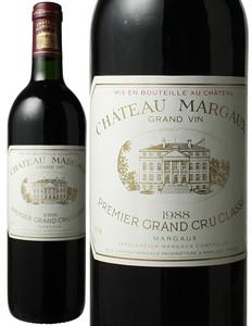 シャトー・マルゴー 1988 赤  Chateau Margaux   スピード出荷