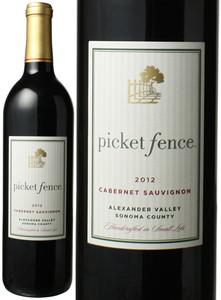 ピケット・フェンス カベルネ・ソーヴィニヨン アレキサンダー・ヴァレー 2012 赤  Picket Fence Cabernet Sauvignon Alexander Valley  スピード出荷