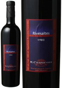 リヴザルト 500ml 1983 シャプティエ 赤  Rivesaltes / M.Chapoutier  スピード出荷