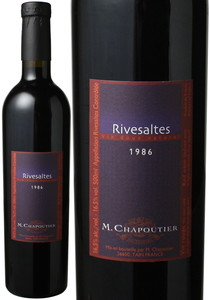 リヴザルト 500ml 1986 シャプティエ 赤  Rivesaltes / M.Chapoutier   スピード出荷