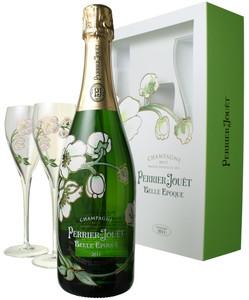 ペリエ・ジュエ ベル・エポック グラス付きセット 2011 白  Perrier Jouet Belle Epoque   スピード出荷