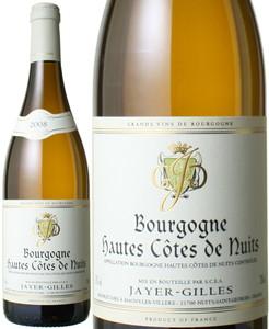 ブルゴーニュ オート・コート・ド・ニュイ・ブラン 2008 ジャイエ・ジル 白  Bourgogne Hautes Cotes de Nuits Blanc / Jayer Gilles   スピード出荷