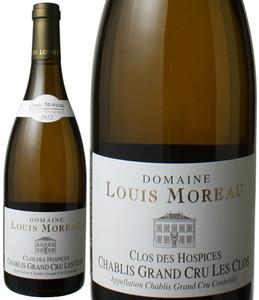 シャブリ・グラン・クリュ クロ・デ・ゾスピス・ダン・レ・クロ 2012 ドメーヌ・ルイ・モロー 白 Chablis Grand Cru Clos de Hospices Dans Les Clos / Domaine Louis Moreau  スピード出荷