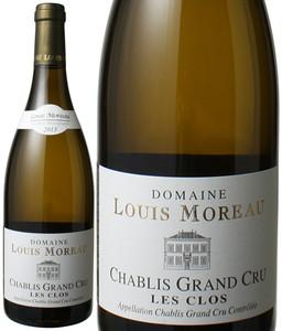 シャブリ・グラン・クリュ レ・クロ 2013 ドメーヌ・ルイ・モロー 白 Chablis Grand Cru  Les Clos / Domaine Louis Moreau  スピード出荷