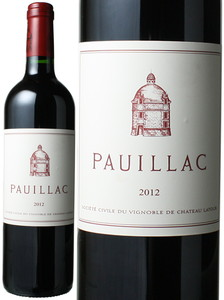 ポイヤック・ド・ラトゥール 2012 赤  Pauillac de Latour  スピード出荷