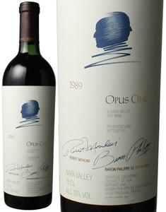 オーパス・ワン 1989 モンダヴィ&バロン・フィリップ 赤  Opus One / Robert Mondavi & Baron Philippe De Rothschild   スピード出荷