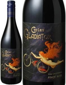 ピノノワール カリフォルニア 2016 サイクルズ・グラディエーター 赤 Cycles Gladiator Pinot Noir  スピード出荷