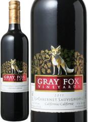 カベルネ・ソーヴィニヨン カリフォルニア 2017 グレイ・フォックス・ヴィンヤード 赤 Gray Fox Vineyards Cabernet Sauvignon  スピード出荷
