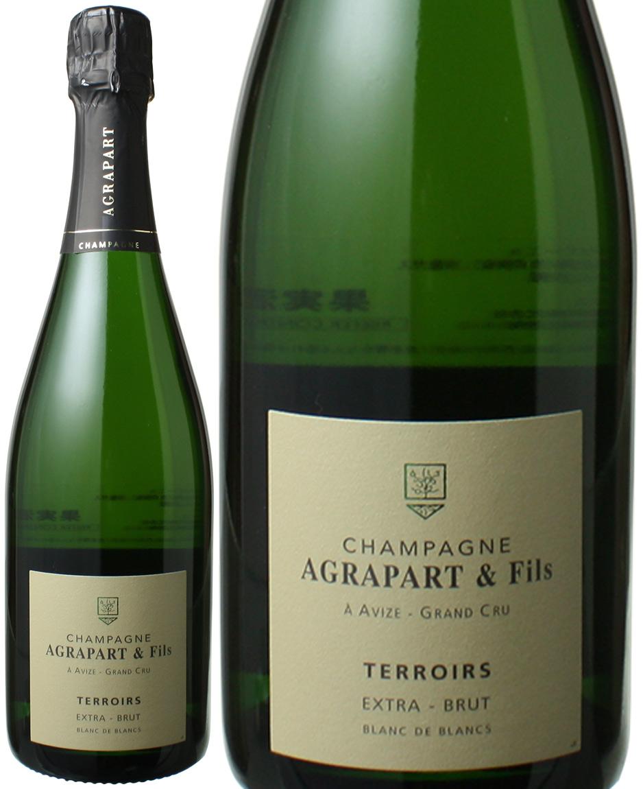 アグラパール ブラン・ド・ブラン テロワール グラン・クリュ NV 白 Agrapart & Fils Blanc de Blancs Terroirs Extra Brut Grand Cru   スピード出荷