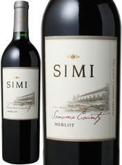 シミ ソノマ・カウンティ メルロー 2016 シミ・ワイナリー 赤 Merlot Sonoma County / Simi Winery   スピード出荷