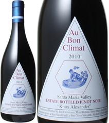 オー・ボン・クリマ ピノ・ノワール ノックス・アレキサンダー 2014 赤 Au Bon Climat Pinot Noir Knox Alexander 2014   スピード出荷