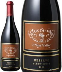 リザーヴ・カーネロス ピノ・ノワール 2008 クロ・デュ・ヴァル 赤  Reserve Pinot Noir / Clos du Val   スピード出荷