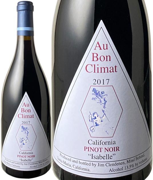 オー・ボン・クリマ ピノ・ノワール イザベル 2017 赤 Au Bon Climat Pinot Noir Isabell Jim Clendenen   スピード出荷