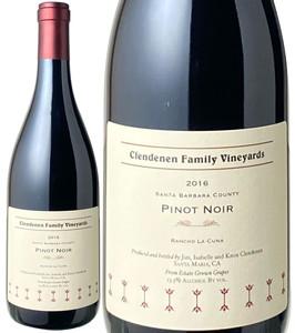 クレンデネン・ファミリー ピノ・ノワール ランチョ・ラ・クーナ 2016 赤 Le Bon Climat Pinot Noir / Clendenen Family Vineyards   スピード出荷