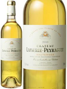 シャトー・ラフォリ・ペイラゲ 2010 白  Chateau Lafaurie Peyraguey  スピード出荷