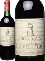 シャトー・ラトゥール 1975 赤  Chateau Latour   スピード出荷