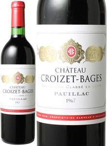 シャトー・クロワゼ・バージュ 1964 赤  Chateau Croizet Bages  スピード出荷