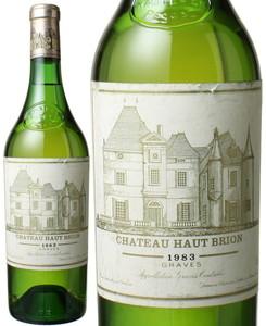シャトー・オー・ブリオン ブラン 1983 白  Chateau Haut Brion Blanc   スピード出荷