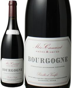 ブルゴーニュ・ルージュ 2015 メオ・カミュゼ・フレール・エ・スール 赤  Bourgogne Rouge / Meo Camuzet Frere et Soeur  スピード出荷