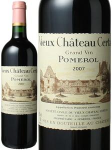 ヴュー・シャトー・セルタン 2007 赤  Vieux Chateau Certan   スピード出荷