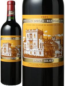 シャトー・デュクリュ・ボーカイユ 1985 赤  Chateau Ducru Beaucaillou  スピード出荷