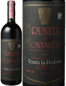 ブルネッロ・ディ・モンタルチーノ 1986 ラ・ポデリーナ 赤  Brunello di Montalcino Castelgiocondo / La Poderina   スピード出荷