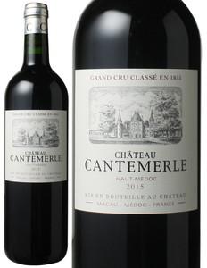 シャトー・カントメルル 2015 赤  Chateau Cantemerle   スピード出荷