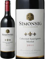 シモンシッヒ クラシック・ブレンド カベルネソーヴィニヨン/メルロー 2015 赤 Simonsig Classic Blend Cabernet Sauvignon / Merlot  スピード出荷