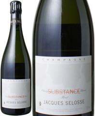 ジャック・セロス シュブスタンス NV 白  Jacques Selosse Substance Brut   スピード出荷