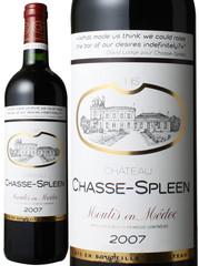 シャトー・シャス・スプリーン 2007 赤  Chateau Chasse-Spleen 2007  スピード出荷