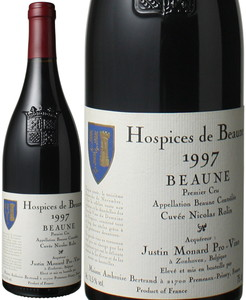 オスピス・ド・ボーヌ ボーヌ プルミエ・クリュ キュヴェ・ニコラ・ロラン 1997 赤  Hospices de Beaune Beaune Cuvee Nicolas Rolin  スピード出荷