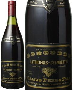 ラトリシエール・シャンベルタン 1983 カミュ ペール・エ・フィス 赤  Latricieres Chambertin / Camus  スピード出荷
