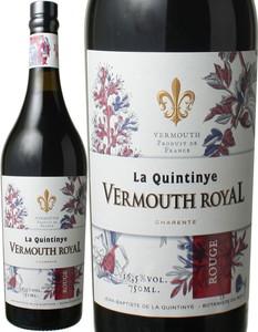 ヴェルモット ロイヤル ルージュ NV ラ・カンティニ  赤  Vermouth Royal Rouge / La Quintinya   スピード出荷