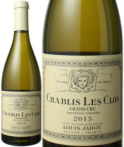 シャブリ グランクリュ レ・クロ 2015 ルイ・ジャド 白  Chablis Grand Cru Les Clos / Louis Jadot   スピード出荷