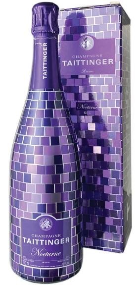 テタンジェ 限定ボトル ノクターン・パープル・エディション セック NV 白  Taittinger Nocturne Purple Night Edition Sec   スピード出荷