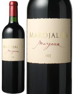 マロジャリア 2002 赤  Marojallia   スピード出荷