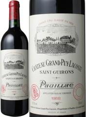 シャトー・グラン・ピュイ・ラコスト 1988 赤  Chateau Grand Puy Lacoste 1988  スピード出荷