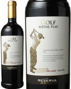 ゴルフ メダルプレイ 2015 レセルバ・デ・ラ・ティエラ 赤  Golf Medal Play / RESERVA DE LA TIERRA  スピード出荷