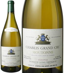 シャブリ・グラン・クリュ ムートンヌ マグナム1.5L 2002 ドメーヌ・ロン・デパキ 白  Chablis Grand Cru Moutonne / Domaine Long-Depaquit   スピード出荷