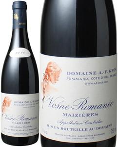 ヴォーヌ・ロマネ メズィエール 2010 アンヌ・フランソワーズ・グロ 赤  Vosne Romanee Maizieres / Dmaine A.F. Gros  スピード出荷