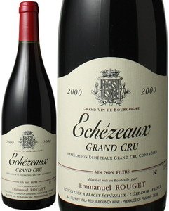 エシェゾー 2000 エマニュエル・ルジェ 赤  Echezeaux / Emmanuel Rouget  スピード出荷