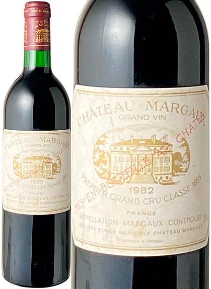 シャトー・マルゴー 1982 赤  Chateau Margaux   スピード出荷