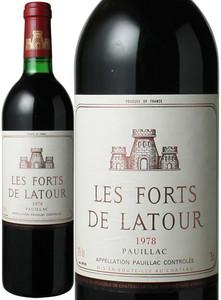 レ・フォール・ド・ラトゥール 1978 赤   Les Forts de Latour  スピード出荷
