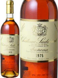 【新春セール】シャトー・スデュイロー 1975 白  Chateau Suduiraut   スピード出荷