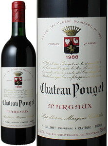 シャトー・プージェ 1988 赤  Chateau Pouget  スピード出荷